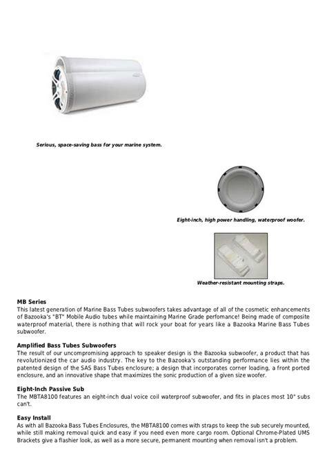 bazooka bta8100 wiring diagram on fluorescent tube wiring diagram, omega  subwoofer wire harness diagram,