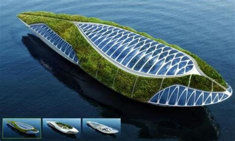 Floating Boat Garden Design by Physalia A Hibious Garden Cleaning Waters Across