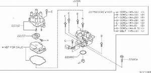 Nissan Xterra Screw Kit  Hitachi  Hap  Distributor