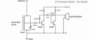 9 V Am Radio Circuit