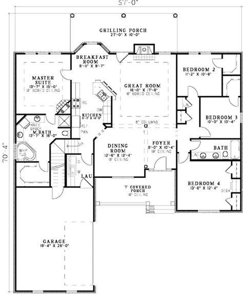 open floor plans ranch homes open floor plan ranch plans home deco plans