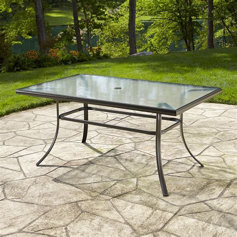 replacement glass table top for patio furniture essential garden fulton dining table limited availability