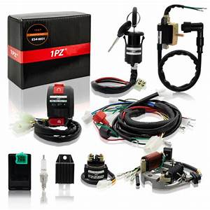 Complete Stator Wiring Harness Cdi Ignition Coil Solenoid