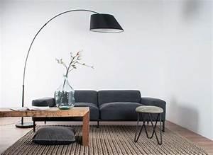 Luminaire Salon Design : lampadaire salon arc lampadaires led marchesurmesyeux ~ Teatrodelosmanantiales.com Idées de Décoration