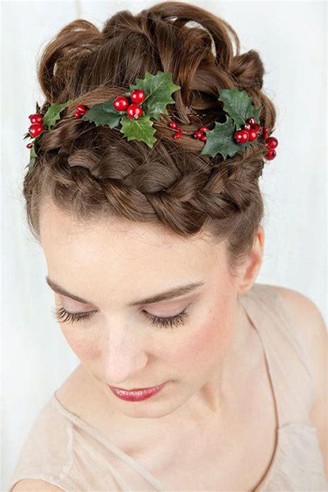 15 creative christmas themed hairstyle ideas 2015 xmas