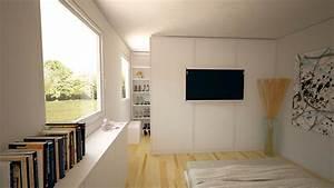 Planung Begehbarer Kleiderschrank : begehbarer kleiderschrank in schlafzimmer mit der richtigen planung bereits ab einer gr e von ~ Indierocktalk.com Haus und Dekorationen