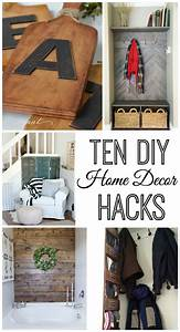 10, Do, It, Yourself, Home, Decor, Hacks