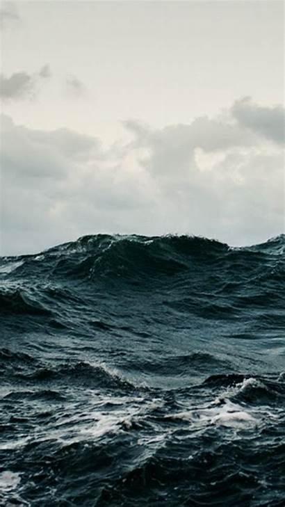 Stormy Sea Ocean Phone Wallpapers Mobile Phones