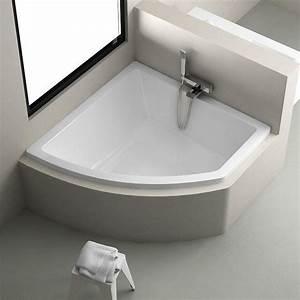 Baignoire D Angle 135x135 : baignoire d 39 angle regatta 140x140 cm version droite ~ Edinachiropracticcenter.com Idées de Décoration