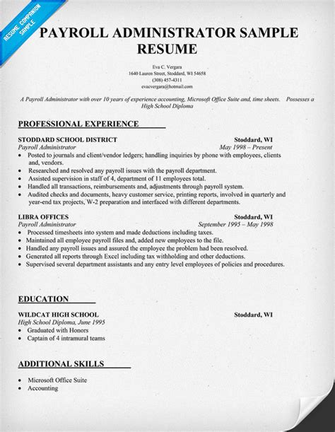payroll administrator cover letter exle payroll