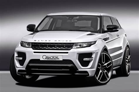 land rover evoque black modified caractere range rover evoque modified autos world blog