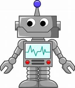 Cartoon Robot Clip Art at Clker com - vector clip art