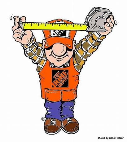 Depot Homer Working Clip Clipart Funny Logos