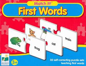 learning journey match it first words 3 With the learning journey match it 3 letter words