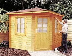 Gartenhaus Mit Fenster : 5 eck gartenhaus 240x240cm holzhaus bausatz einzelt r mit fenster vom garten fachh ndler ~ Whattoseeinmadrid.com Haus und Dekorationen
