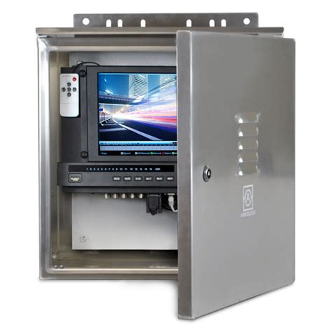 weatherproof fan rated box dwpdvr8a 8 channel complete weatherproof dvr solution