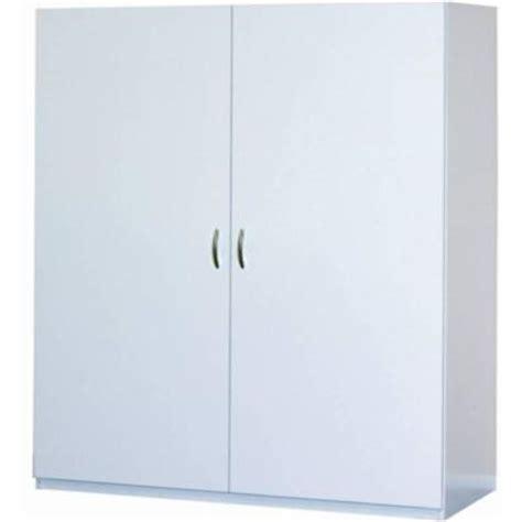 closetmaid jumbo storage cabinet closetmaid 80 in h x 48 in w x 16 in d white melamine
