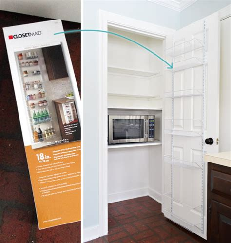 Closetmaid Door Storage Rack - adding tons of pantry storage function house