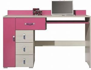 Bureau Enfant Fille : bureau bois pour fille ~ Teatrodelosmanantiales.com Idées de Décoration