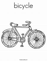 Coloring Bicycle Bike Built Pages Adult Printable California Usa sketch template