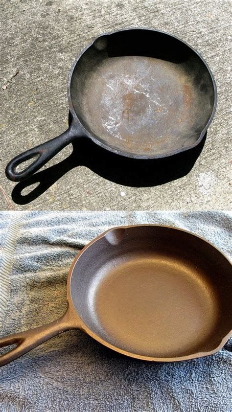 cast iron cleaning 40 must read cleaning tips tricks that will make your home shine cute diy projects