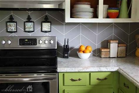do it yourself backsplash for kitchen 21 kitchen upgrades that you can actually do yourself 9601