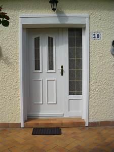 porte d39entree en pvc tiercee avec panneau decoratif With porte d entrée tiercée