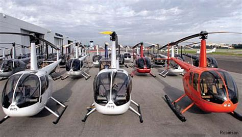 R44 and R66 Helicopters Number One in Sales in 2015