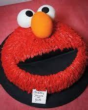 17 best images about carters 2nd birthday on pinterest With elmo template for cake