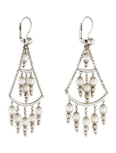 14k Gold Chandelier Earrings by 14k Pearl Chandelier Earrings Earrings Earri27510