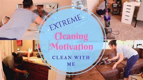 Clean With Me Extreme Cleaning Motivation Cleaning