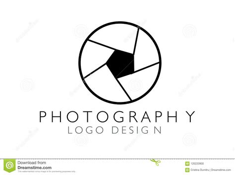 Creative Studio Logo Design. Camera . . Shutter Vector ...
