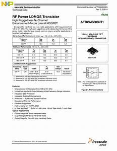 Rf Power Ldmos Transistor High Ruggedness N