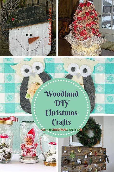 woodland diy christmas crafts allfreechristmascraftscom