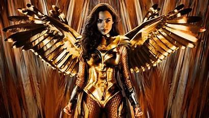 Wonder 1984 Woman Armor Golden 4k Eagle