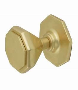 Barre De Sécurité Pour Porte D Entrée : bouton de tirage hexagonal pour porte d 39 entr e laiton ~ Premium-room.com Idées de Décoration