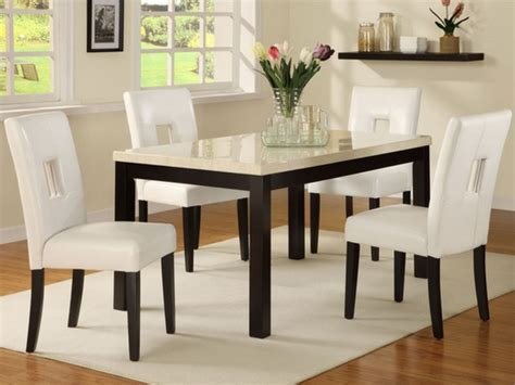 modern glass dining table set dining room table and chair sets home furniture design