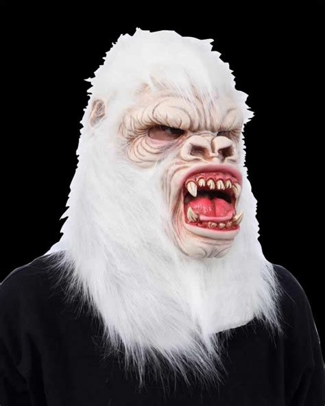 Abominable Snow Monster Yeti Halloween Mask