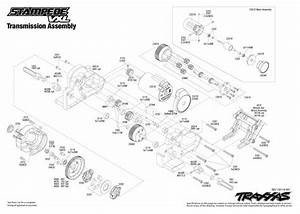 33 Traxxas Stampede 2wd Parts Diagram