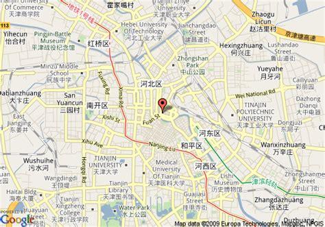 map   western byronn hotel tianjin tianjin