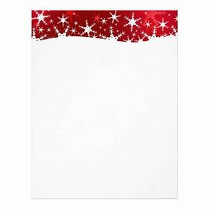 christmas letterhead custom christmas letterhead templates With christmas letter stationery