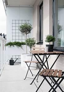 Gartenmöbel Für Kleinen Balkon : 60 inspirierende balkonideen so werden sie einen traumhaften balkon gestalten kleine balkone ~ Sanjose-hotels-ca.com Haus und Dekorationen