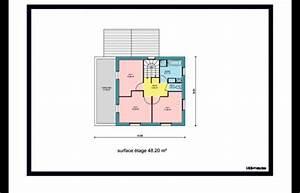 plan de maison a etage 3 chambres des idees novatrices With marvelous des plans pour maison 9 plan et photo de maison avec etage ossature bois par