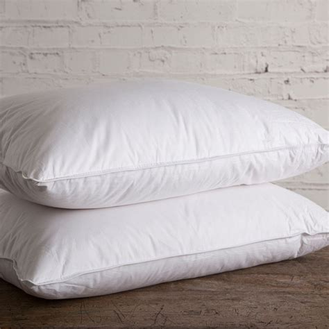 Goose Pillows by 100 Siberian Goose Pillow Luxury Bedding Company