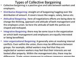Trade Unions and Collective Bargaining | anjuthomas@bims