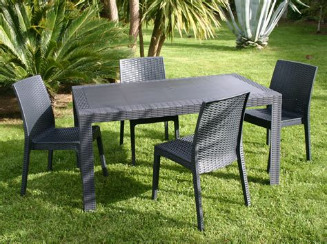 table et chaise de salon table et chaise de jardin en resine tressee frais awesome