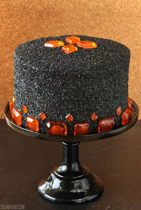 jaw dropping  tasty diy halloween cakes shelterness