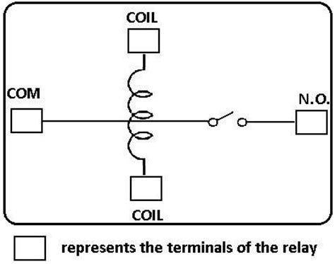 Single Pole Throw Spst Relay Wiring Diagram