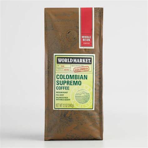 World Market® Colombian Supremo Coffee, Set Of 6 World