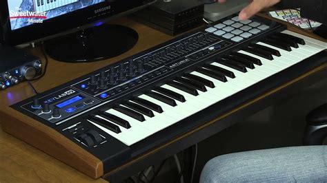arturia keylab  limited edition black keyboard